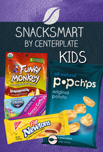 Snacksmart Kids by Centerplate.  (PRNewsFoto/Centerplate)