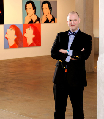 Eric Shiner, Director, The Andy Warhol Museum.  (PRNewsFoto/XOJET)