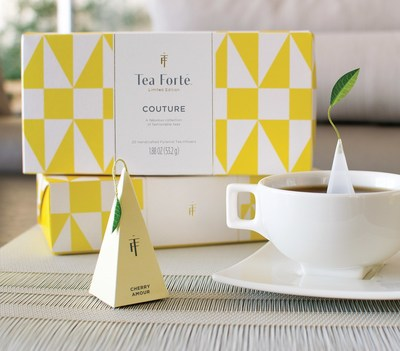 Tea Forte unveils a haute cup of tea for New York Fashion Week