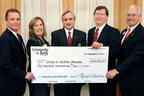 Community Bank Of Tri-County Completes $100,000 Pledge Supporting The College Of Southern Maryland