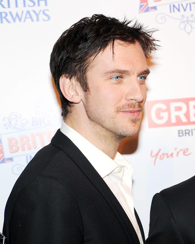 Dan Stevens, also known as Matthew Crawley from the hit series Downton Abbey, at BRITISH AIRWAYS & ...