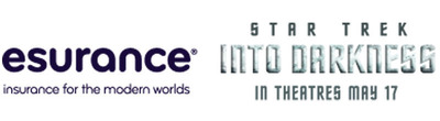 Esurance/Star Trek logo