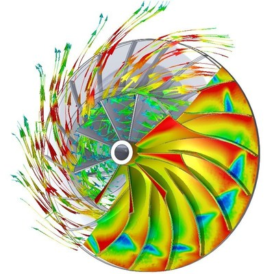 Mentor Graphics latest FloEFD tool features sliding mesh modeling to create more realistic simulation of rotating equipment such as blowers, pumps, and fans.