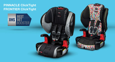 """Britax Boosters are IIHS """"Best Bets"""""""