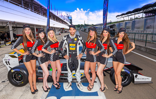 HotForex proudly sponsors Tio Ellinas, Formula Renault World Series driver. (PRNewsFoto/HotForex) (PRNewsFoto/HotForex)