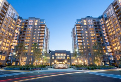 Harrison at Reston (VA) Town Center, a new luxury apartment community that is now 80% leased, has won two prestigious industry awards for excellence in architecture and design.