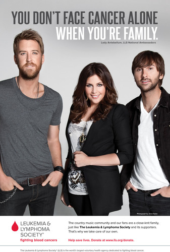 GRAMMY Winning Country Music Trio Lady Antebellum Joins The Leukemia & Lymphoma Society In National