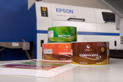 Creative Labels Purchases Epson SurePress for High Quality Digital Label Printing Across Wide Array of Applications.  (PRNewsFoto/Epson America, Inc.)