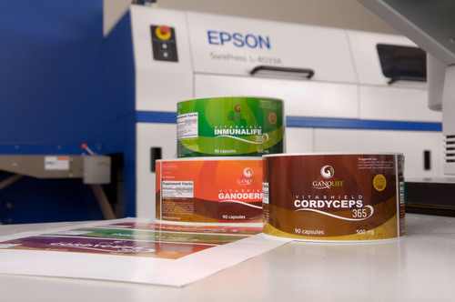 Creative Labels Purchases Epson SurePress for High Quality Digital Label Printing Across Wide Array of Applications. (PRNewsFoto/Epson America, Inc.) (PRNewsFoto/EPSON AMERICA, INC.)