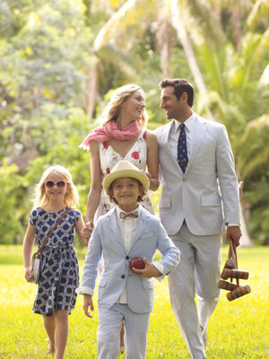 From boys' suiting to girls' dresses, Lands' End offers no-fuss kids' dress-up styles that are comfortable enough to wear everyday.  (PRNewsFoto/Lands' End)