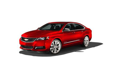 The redesigned 2014 Chevy Impala will be available this spring in Minnesota, Wisconsin and Iowa through CarBuyersExpress.com.  (PRNewsFoto/CarBuyersExpress)