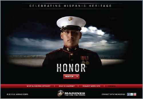 U.S. Marine Corps Celebrates Hispanic Heritage Month.  (PRNewsFoto/United States Marine Corps)