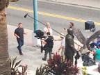 John Cena on Set in Ybor City for National PSA Commercial