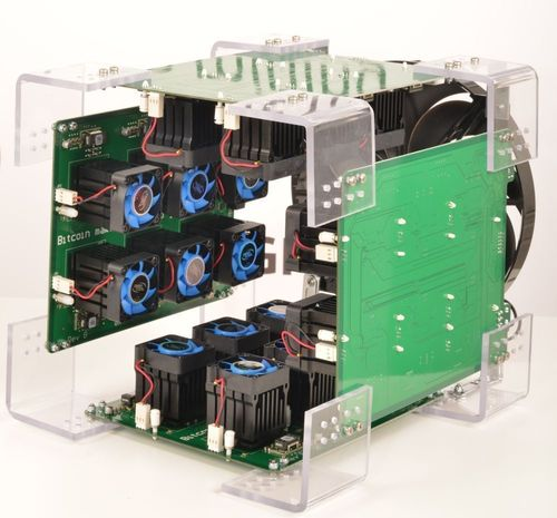 KnCMiner ASIC mining Prototype