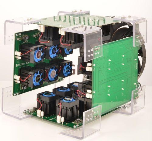 Nuevos productos de minería bitcoin ASIC que producen 350GHash/s, de KnCMiner