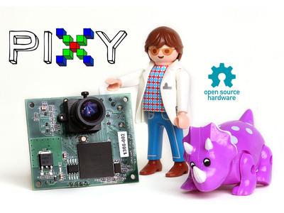 Pixy: a fast, easy-to-use vision sensor.  (PRNewsFoto/Charmed Labs LLC)