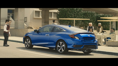 """All-New Civic Coupe is Anything but """"Square"""" in New Ad Campaign"""