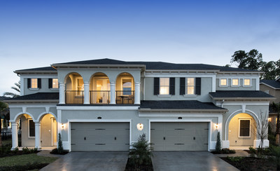 Standard Pacific Homes introduces The Villas, a unique collection of single-story homes in Jacksonville's master -planned community of Nocatee. The models are now open for tours.