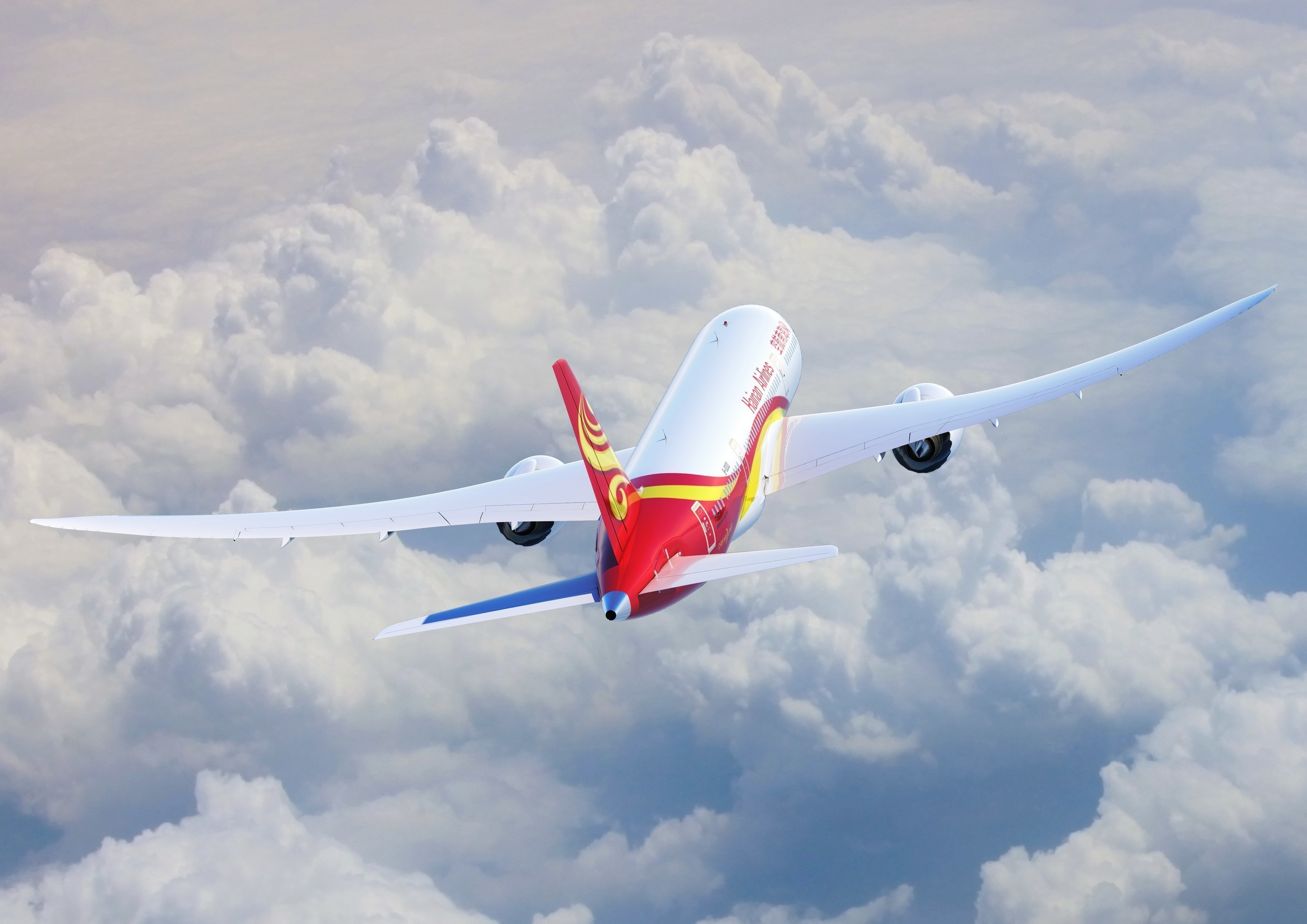 All Hainan flights between China and the United States feature the Boeing 787 Dreamliner, including new service between LAX and Changsha.