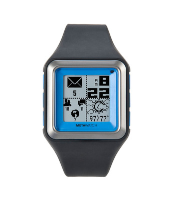 MetaWatch STRATA: the Smartwatch for the iPhone 4S & Android.  (PRNewsFoto/MetaWatch)