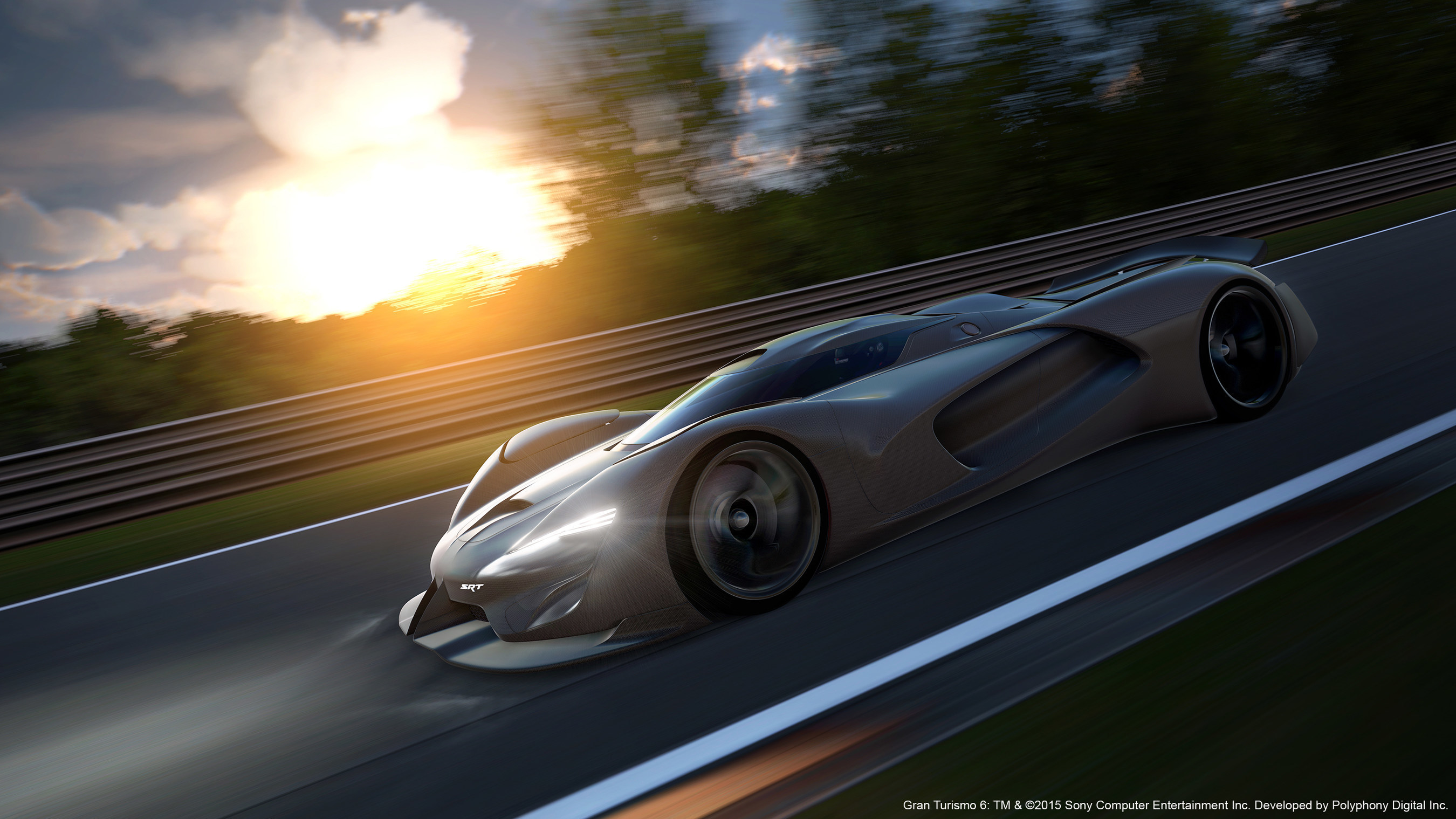 FCA US LLC Looks 20 Years Into the Future With SRT Tomahawk Vision Gran Turismo