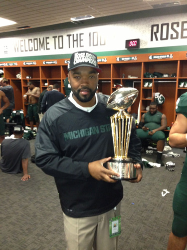 "MSU Football ""Game Changer,"" Curtis Blackwell, Director of College Advancement and Performance & Camp ..."