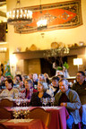Vintners' Holidays in Yosemite tasting session in The Ahwahnee Great Lounge