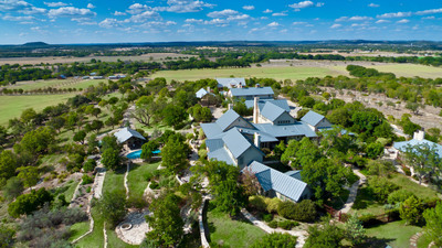 Luxury Auction October 8th 207-Ac Texas Hill Country Ranch By Concierge Auctions RiverRanchAuction.com.  (PRNewsFoto/Concierge Auctions)