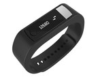 The NextOne wristband pedometer tracks steps, distance, calories burned, sleep quality and heart rate so you can track your daily activities, set goals and share accomplishments with friends.