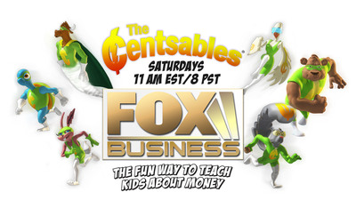 April is Financial Literacy Month.  Teach your kids about money at www.Centsables.com.
