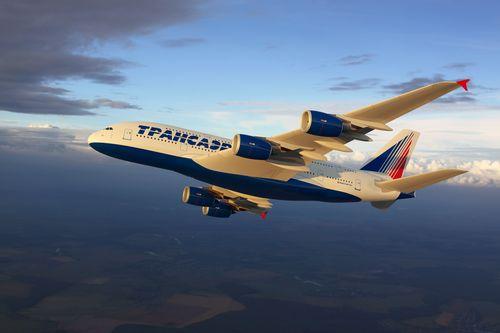 Transaero Airlines Completes Interior Design of its Airbus A380s (PRNewsFoto/Transaero Airlines)