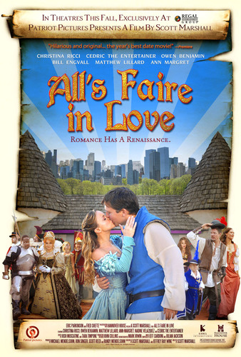 Regal Entertainment Group and Hannover House Launch National Campaign for 'All's Faire In Love'