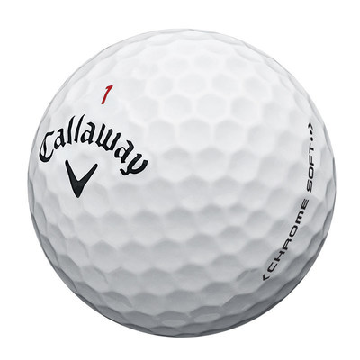 CALLAWAY GOLF ANNOUNCES NEW CHROME SOFT GOLF BALLS. Chrome Soft features a new Dual SoftFast Core(TM) for fast ball speeds off the driver, with more control with the scoring clubs, and incredibly soft feel.