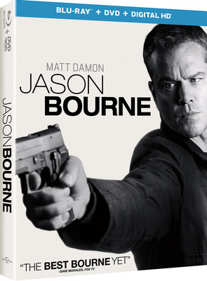 From Universal Pictures Home Entertainment: Jason Bourne
