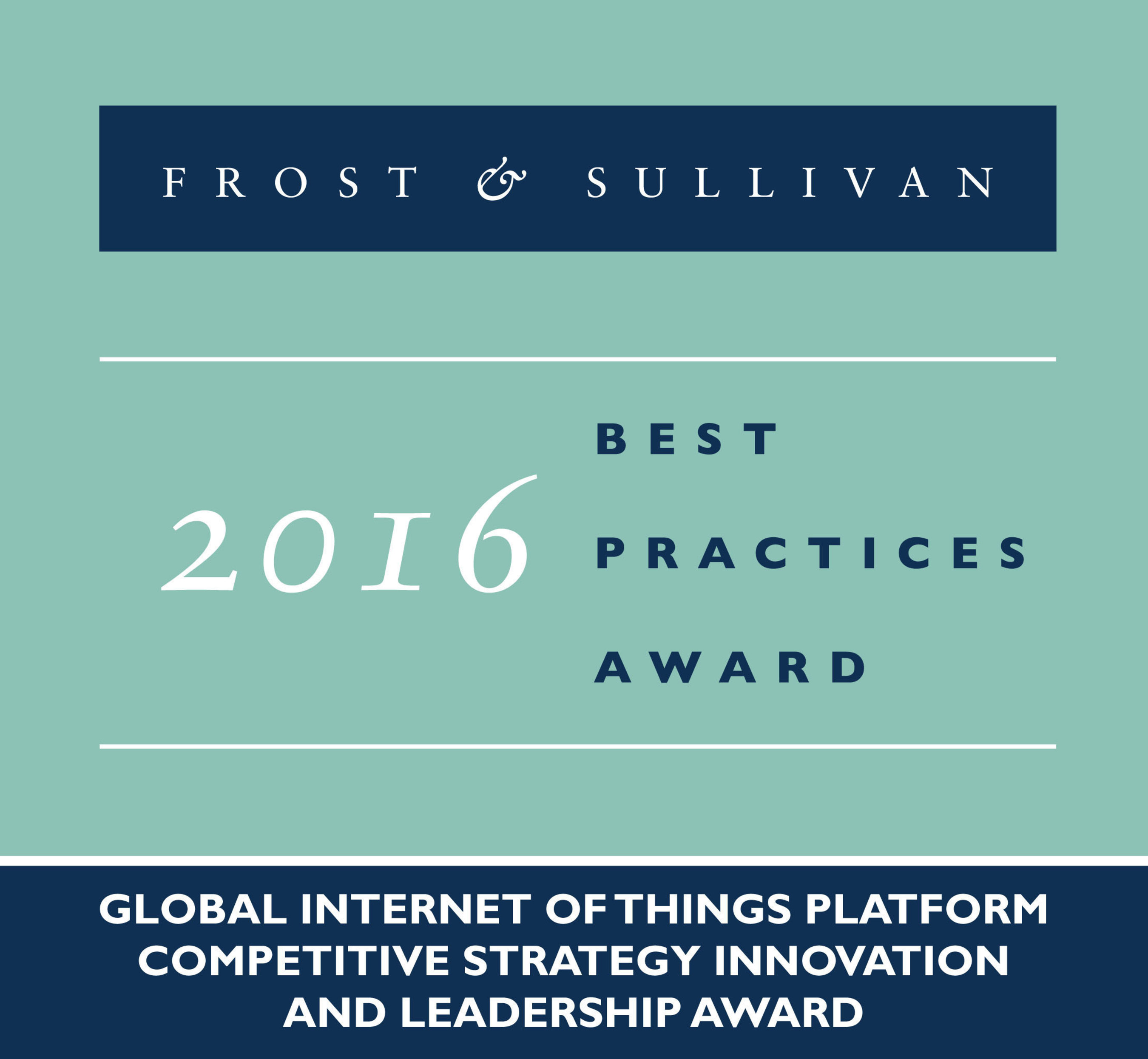 InterDigital is recognized with Frost & Sullivan's 2016 Global Competitive Strategy Innovation and Leadership Award