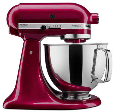 KitchenAid Artisan Series Stand Mixer Bordeaux.