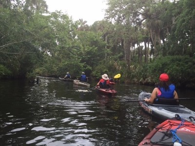 Wounded Warrior Project hosted a kayaking adventure for a group of wounded veterans.