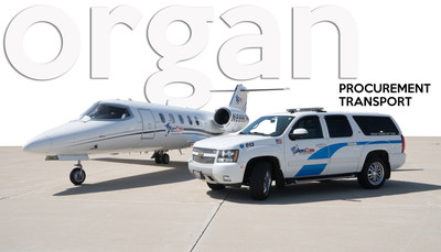 AeroCare's Special Operations Group has a fleet of special Chevy Suburbans and aircraft to transport organ procurement teams nationwide.