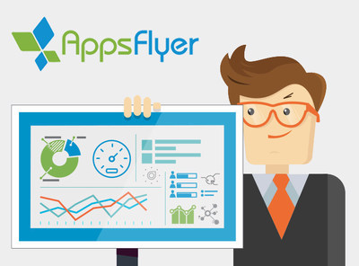 AppsFlyer's NativeTrack(TM) technology provides app marketers, brands and agencies with unbiased, independent measurement of mobile ad campaigns. (PRNewsFoto/AppsFlyer)