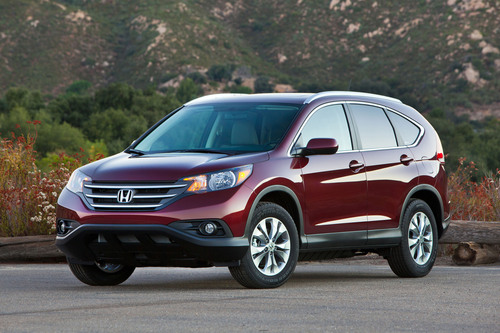 Honda October Sales Rise on Record CR-V and Strong Civic Sales.  (PRNewsFoto/American Honda Motor Co., Inc.)