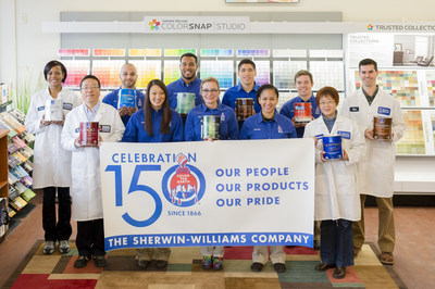 The Sherwin-Williams Company Celebrates 150 years; Our People, Our Products, Our Pride