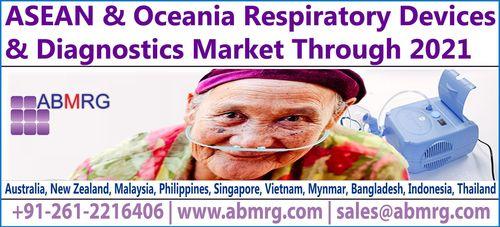 ASEAN & Oceania Respiratory Devices & Diagnostics Market Through 2021 (PRNewsFoto/ABMRG)