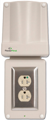 TeleTracking's RadarFind intros tamper-proof RTLS reader for pediatric, psychiatric and substance abuse hospital units.  (PRNewsFoto/TeleTracking Technologies, Inc.)