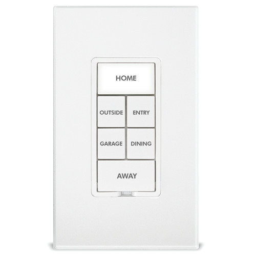 The INSTEON Keypad Dimmer replaces an existing switch to give you control over other INSTEON devices throughout  ...