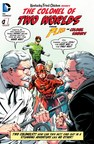 Colonel Sanders Joins Green Lantern & The Flash in a Battle for the World's Best Chicken
