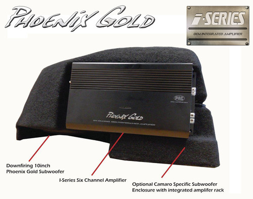 Phoenix Gold® to Unveil World's First OEM Integration Car Audio Amplifier & Subwoofer Combo at 2011