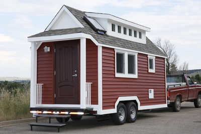 Plastics make it possible unveils new tiny house that s for Energy efficient tiny homes