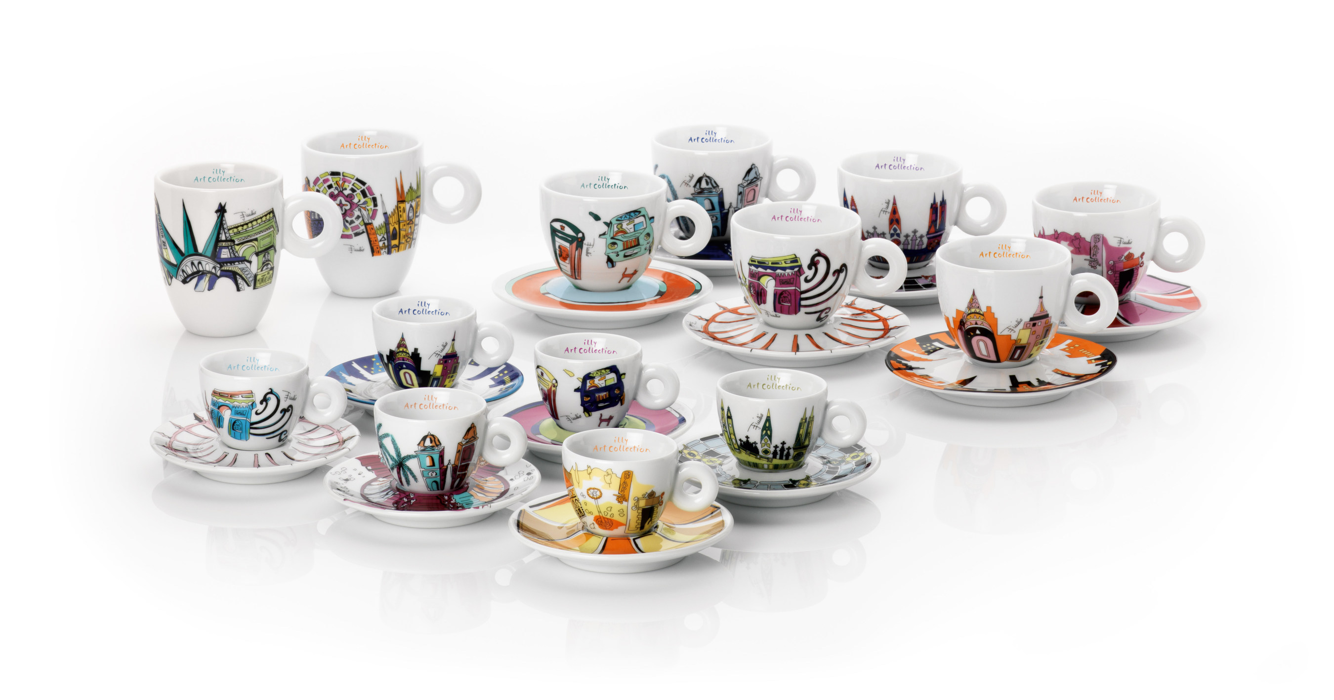 Paris is for Lovers Espresso Cups Gift Set of 2