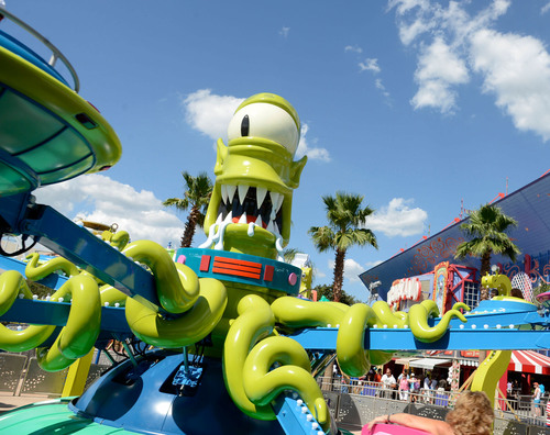 Springfield is Now Open at Universal Orlando Resort.  (PRNewsFoto/Universal Orlando Resort)