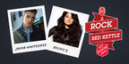 Becky G and Jacob Whitesides to perform for free Rock the Red Kettle Concert to celebrate The Salvation Army's 125th Red Kettle Campaign.